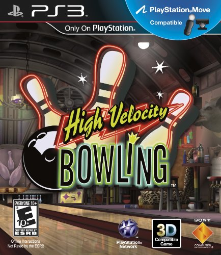 High Velocity Bowling (Motion Control) - Playstation 3 - 1