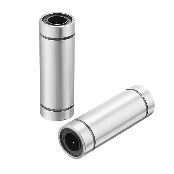 2PCS 8mm LM8UU Linear Motion Ball Bearing Bush Bushing Replacement 3D Printer