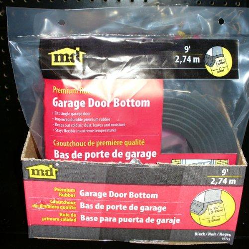 M d building products 3723 garage door bottom rubber 9 for 12 foot garage door for sale