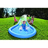 Water Slide for Kids, Inflatable - Blue - 12'L