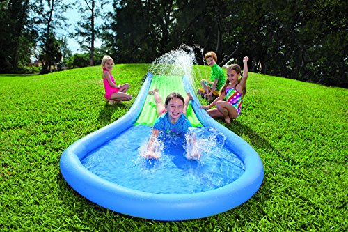 Cheapest Price! HearthSong Inflatable Water Slide for Kids