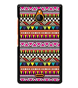 printtech Ethnic Pattern Back Case Cover for Nokia X2 Dual SIM