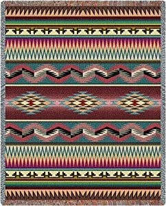 Desert Stripe Throw - 70 x 53 Blanket/Throw