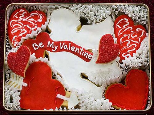 Be My Valentine Cookie Gift Tin