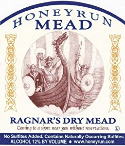 NV HoneyRun Winery Ragnar's Dry Mead 750 mL