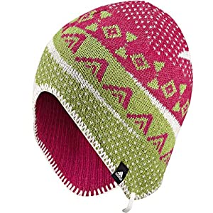 adidas Performance Womens Reversible Knitted Beanie Hat - XXS