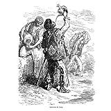 Grabado antiguo (1862) - Xilografía - Lorca.- Aguadores (10x16), Doré, Gustave
