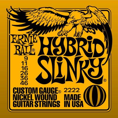 Ernie Ball 2222 Hybrid Slinky String Set (9 -