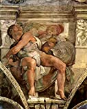 The Museum Outlet - The prophet Jonas by Michelangelo - Canvas Print Online Buy (24 X 32 Inch)