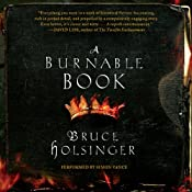 A Burnable Book: A Novel | [Bruce Holsinger]