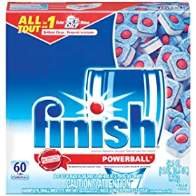 Finish Powerball Tablets, Fresh Scent