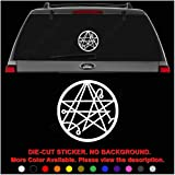 Necronomicon Goddess Wiccan Die Cut Vinyl Decal Sticker for Car Truck Motorcycle Vehicle Window Bumper Wall Decor Laptop Helmet Size- [20 inch] / [50 cm] Tall || Color- Gloss Black (Color: Gloss Black, Tamaño: 20 in / 50 cm Tall)