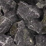 Gabionen Steine Basaltbruch anthrazit 70-120mm - 500kg Big Bag