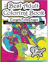 Best Adult Coloring Book: Energetic Portal Designs download ebook