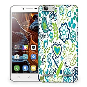 Snoogg Abstract Nature Beings Designer Protective Phone Back Case Cover For Lenovo K5 Vibe