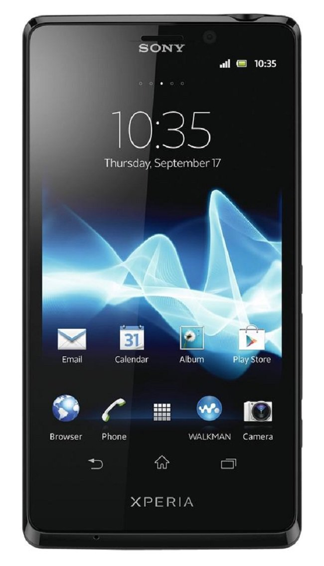 Sony Sony Xperia TL LT30at 16GB 4G LTE Unlocked GSM Android Smartphone - Black-Refurbished