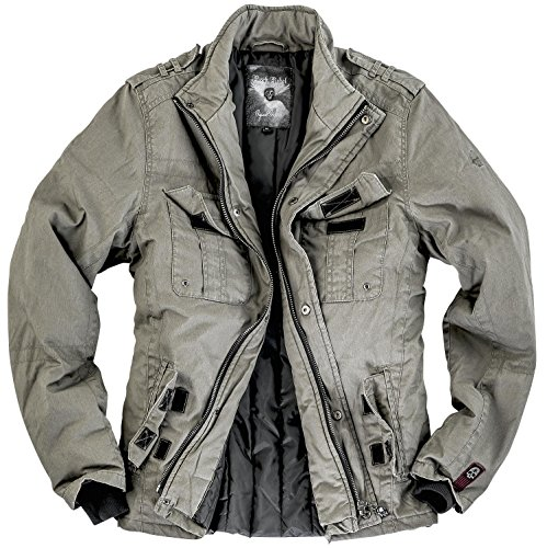 Rock Rebel by EMP Combat Jacket Giacca antracite XXL