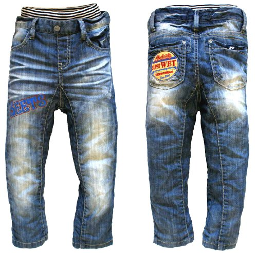 (ビーツ) BEETS 112563 デニム リブ ジョッパーズ rib pants 80cm