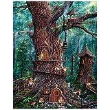 Sunsout Susnout Jeff Tift Forest Gnomes Puzzle - 1000 Pieces