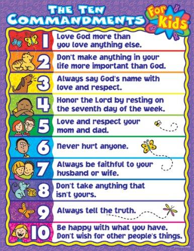 10+commandments+for+children+activities
