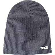 neff Men's Daily Beanie, Charcoal, On…