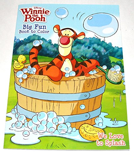 Dalmatian Press Disney Winnie the Pooh We Love to Splash Coloring & Activity Book A fun Book To Color (96 pages) - 1