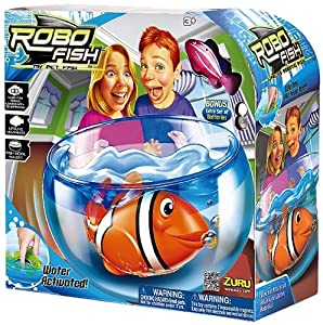 Robo Fish Aquarium Play Set