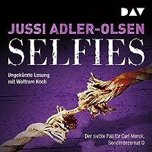 Selfies (Carl Mørck 7) Audiobook by Jussi Adler-Olsen Narrated by Wolfram Koch
