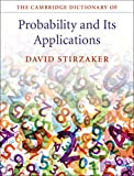img - for The Cambridge Dictionary of Probability and Its Applications book / textbook / text book