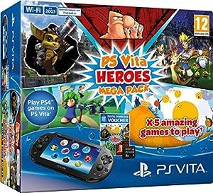 PS Vita Slim MegaPack Heroes