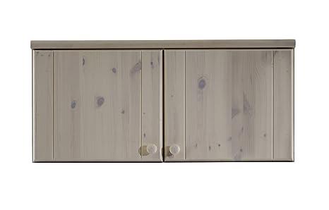 Grupo 3451200013000F En Steens Furniture Armario Puertas Ribe 2 Pin Blanc Macizo de 109 x 60 x 46.4 cm