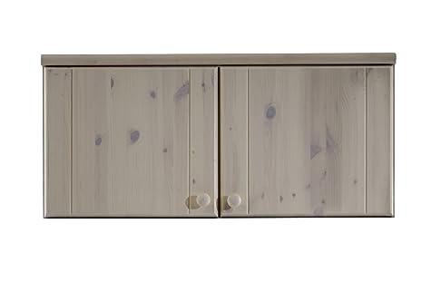 Steens, Armadietto pensile per vestiti, Bianco (Weiß), 46 x 101 x 60 cm