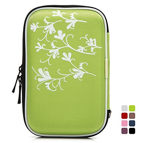 collbell-25-inch-hard-drive-case-shockproof-carrying-cover-hard-shell-sleeve-with-flower-for-western