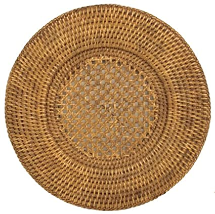 13-inch Rattan Charger Plate by Entertaining with Caspari