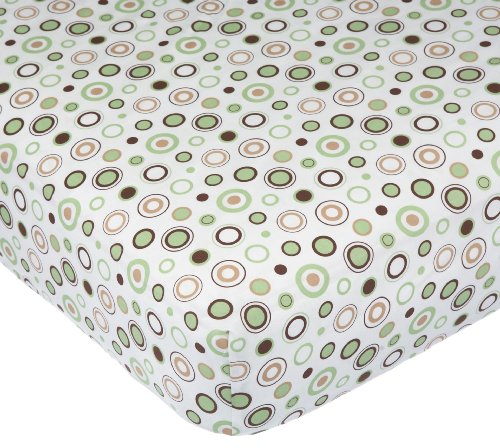 Carter's Easy Fit Printed Crib Fitted Sheet,