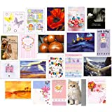 Handy Pack 20 Mixed Birthday & Greeting Cards