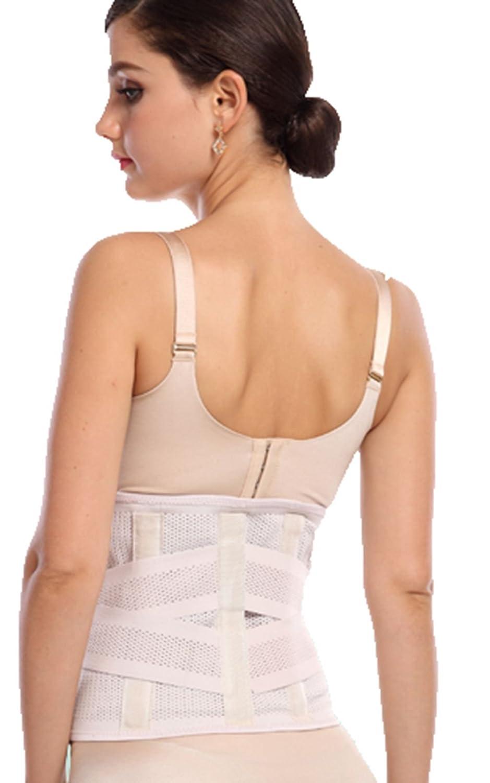 Tri-Slim Frauen-Postpartum Abdomen Band, Atmungsaktive elastische justierbare Taille Trummer.13