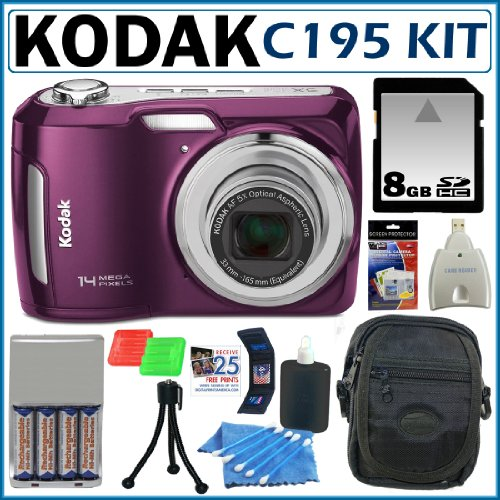 Kodak C195 Purple 14mp Kodak Easyshare C195 14mp 5x