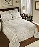Stylemaster Concord Center Motif King Woven Bedspread, Blue