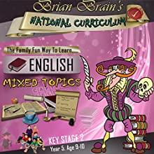 Brian Brain's National Curriculum KS2 Y5 English Mixed Topics (       UNABRIDGED) by Russell Webster Narrated by Brian Brain
