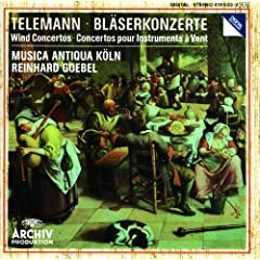 Telemann: Concerto In D Major For Trumpet, Violine, Strings And Basso Cont - 3. Allegro