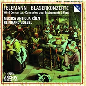Telemann: Concerto In B Flat Major For 3 Oboes, 3 Violins And Basso Conti. - 2. Largo