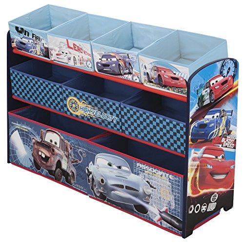 Delta Children Disney/Pixar Cars Deluxe Multi-Bin Toy Organizer (Cars Deluxe Toy Organizer compare prices)