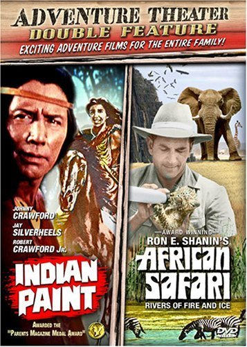 Adventure Theater - Double Feature: Indian Paint/African Safari by Bci / Eclipse (Indian Paint Dvd compare prices)