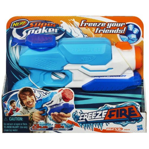 Nerf ナーフ Super Soaker 水鉄砲 Freezefire Blaster フリーズファイヤー ブラスター 【米国正規品】