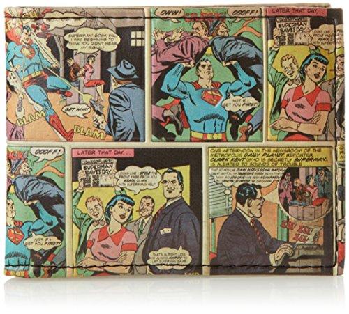 portefeuille-superman-comic-story