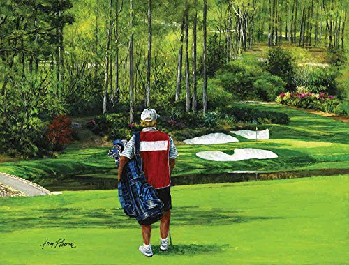 10 5 39 wide by 8 39 high prepasted wallpaper mural from an for Augusta national wall mural