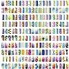 PointZero Pro Airbrush Nail Art Paint Stencil Kit Design Set 2
