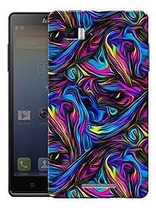"Psychedelic Trippy Art Printed Designer Mobile Back Cover For ""Lenovo Vibe Z K910"" By Humor Gang (3D, Matte Finish, Premium Quality, Protective Snap On Slim Hard Phone Case, Multi Color)"