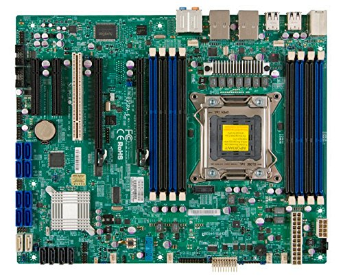 Supermicro ATX DDR3 1066 Intel LGA 2011 SATA3 (6Gb/s) Server Motherboard (X9SRA-O) (Micro Atx 2011 compare prices)